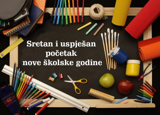 POČETAK NOVE ŠKOLSKE 2019./2020. GODINE